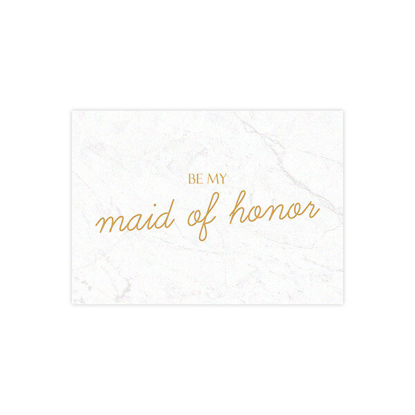 Be my Maid of Honor